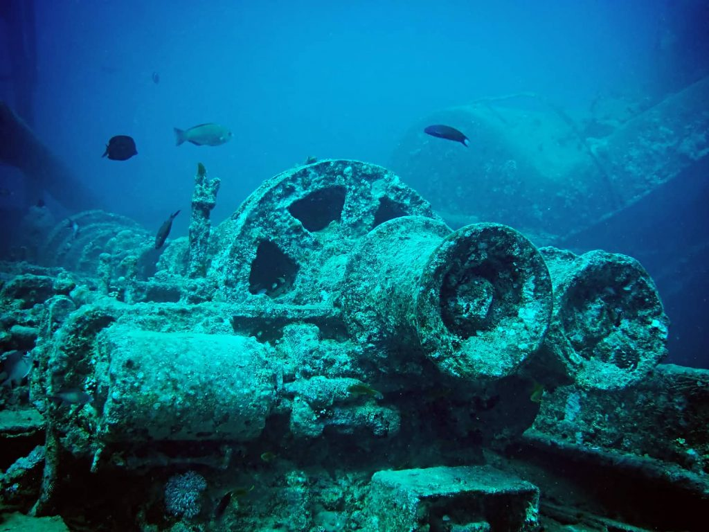 SS Thistlegorm Wreck in the Red Sea